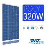 Poly panneau solaire de la haute performance 320W pour 5kw sur le système solaire de réseau