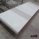 Surface solide acrylique blanche de Corian de glacier