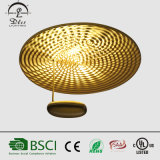 이탈리아 디자이너 형식 금속 훈장 점화 천장 램프