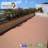 Decking bon marché 100% recyclable extérieur de bois dur de WPC pour le jardin