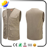Gilet multi d'appareil-photo Pocket de gilet de V-Collet