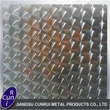 Usine de tôles en acier inoxydable gaufré de vente avec prix de haute qualité