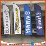 Kundenspezifisches Firmenzeichen, das Fliegen-Markierungsfahnen-Fahne bekanntmacht