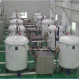 Alta Temperataure 3000c horno de grafito tubo de fibra de carbono