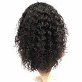 Peluca llena del cordón de Remy de la onda floja india del pelo humano con la rayita natural
