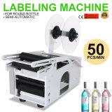 Mt-50 eléctrico Semi-automático máquina de etiquetado de botellas redondas
