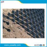 La superficie perforada con textura de plástico de HDPE Geocells de Slope/camino de entrada/Roadbed