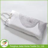 Modernes Duschvorhang-Gewebe-wasserdichtes Polyester-weißer Duschvorhang