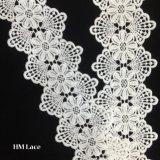 garniture de lacet de voile de la Chine Handcut de lacet de cil de vente en gros de 7.5cm pour le vêtement Hmhb998