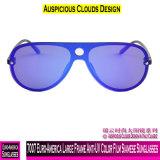 7007 de Grande Estrutura Euro-America Anti-UV película colorida Siamês óculos de sol