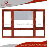 El estilo americano Heat-Insulation/salto térmico de persiana de aluminio de Casement Window