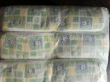 Pañal grado B del bebé de la alta absorción de papel de la savia con precio barato
