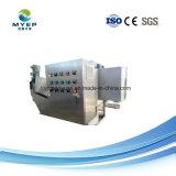 Máquina de desidratação de lamas automática no tratamento de água