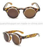 OEM Hot Sale Fashion escamotables ronde en plastique des lunettes de soleil