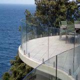 Структурных стекла Balsustrade & Безрамные стеклянные систем