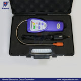 휴대용 LED/LCD 3.7V 재충전 전지 H2 가스 누설 탐지기