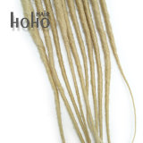 14 Zoll-blonde synthetische Haarpflegemittel Backcombed Dreadlocks