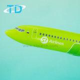 백색 문 39.5cm 사업 선물을%s 가진 새로운 장식적인 편평한 모형 B737-800 S7