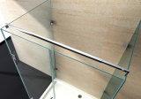 Canto de banho / Dobradiça sem caixilho Chuveiro Envidraçada fácil de limpar