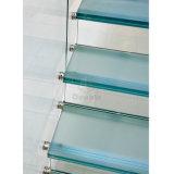 La construcción de la escalera flotante escaleras rectas escaleras de fibra de vidrio.