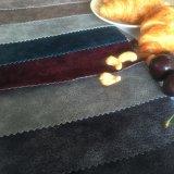 Micro poli tessuto della pelle scamosciata per il cuscino del sofà