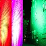 Camada dupla 96HP 12W RGBW Full LED de cor da parede exterior da luz do Lavador