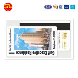 PVC do cartão/membro/do cartão impressão da estratificação do PVC da impressão Offset de cor cheia