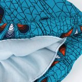 La vente en gros faite sur commande 2018 conçoivent le plus tard les jupes africaines d'impression longtemps