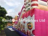 Videur gonflable Funcity de sucrerie extérieure et d'intérieur/château sucrerie d'Inflatables