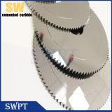 Клеевого карбида вольфрама циркулярная пила нож для бумаги