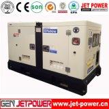 80kw 100kVA elektrischer Stromdieselperkins-schalldichter Generator