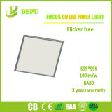 Großhandels-SMD2835 eingehangene Oberflächeninstrumententafel-Leuchte 48W 600*600 100lm/W des Aufflackern-frei LED mit Cer, TUV, SAA