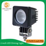 Lumière de travail LED 10W Crees Lumière de travail à LED pour UTV Factory Directement Auto Pièces détachées Portable Super Bright Waterproof