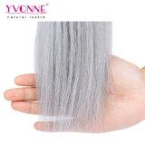 Color recto natural T1b/Gray Ombre del pelo brasileño de Yvonne