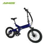 Bici elettrica di piccola piegatura poco costosa all'ingrosso 250W di Aimos