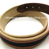 Genuine Leather and Fabric Combined Belts Strap