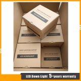 Weiße Aluminiumgehäuse 5W PFEILER LED Deckenleuchte/vertieftes Downlight