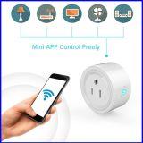 De slimme Afzet van de Contactdoos van de Macht van WiFi van de Stop Draadloze Mini