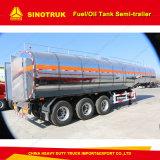 50m3 del eje 3 Aleación Alumminum Semi-Trailer Tanque de combustible/aceite