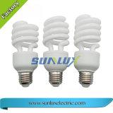 Lámpara llena del ahorro de la energía del espiral ESL/CFL de E27 B22 T4 15W~30W