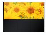 3.5mm 날의 사면 이음새가 없는 4X4 LCD 영상 벽 가격 매우 55 인치 소폭 LCD 접합 전시 벽