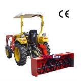 Ce Appoval установленного на тракторе снегоочистителя