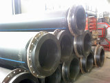 Entwässerung-Rohr-Plastikbagger-Rohr
