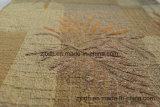 Ткань картины листьев жаккарда синеля для софы (FTH31130)
