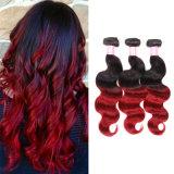 Объемная волна 16inches человеческих волос цвета Ombre оптовой цены бразильская