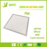 Luz del panel ahuecada LED ultrafina de la luz de la pantalla plana 600X600 para el propósito comercial