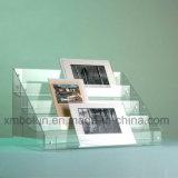 박판에 있는 홀더를 디스플레이하는 탁상용 마분지 브로셔 4개의 층