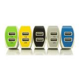 旅行ドイツ、フランス、米国、インドネシア、韓国USB旅行アダプターのセリウムのRoHSによって承認される葉形USBの二重壁の充電器5V 2Aの工場供給EU私達