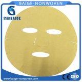 Microfibre jaune Faical masque Masque facial en microfibre feuille de papier