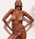 Сексуальное способа горячее нажимает вверх Swimwear шнура установленный Бикини